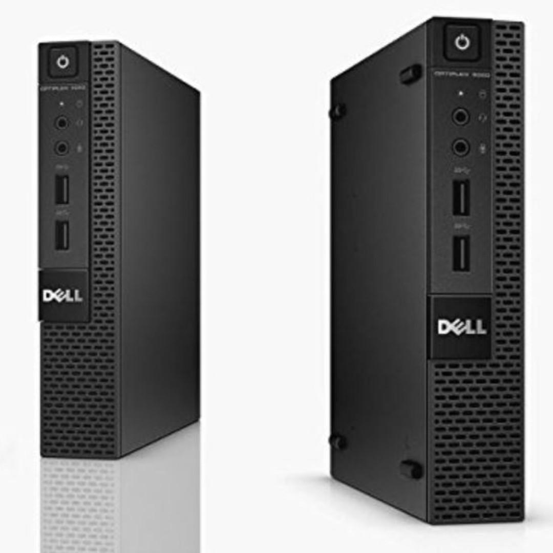 Refurbished Dell Optiplex 9020 Tiny / Intel Core i5-4th Gen / 8GB RAM /  128GB SSD / Windows 7 / One Month Warranty