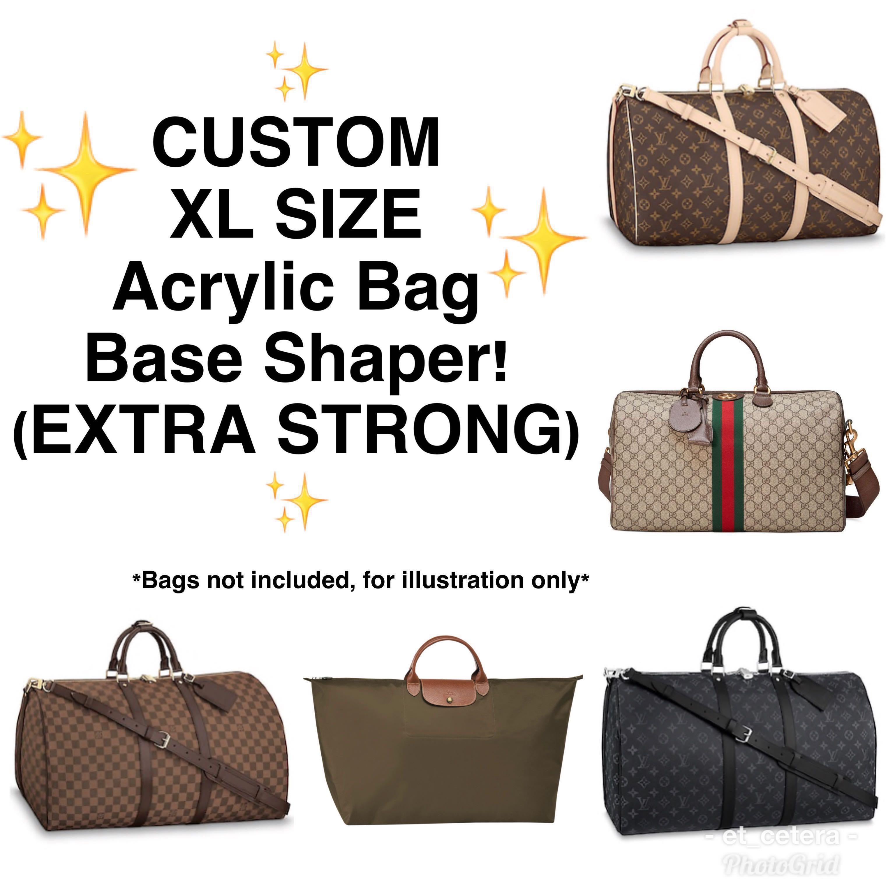 e2611f08c5d2 🌈SALE!😍 CUSTOM XL size Acrylic Bag Base Shaper Insert (maximum ...