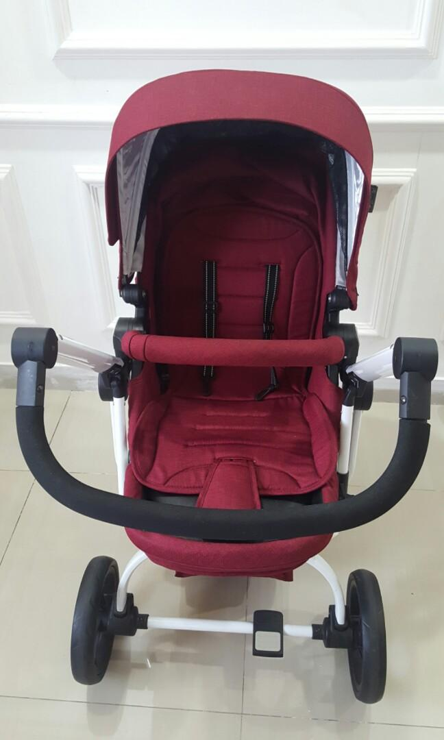 Preloved Stroller bayi quantum cocolate