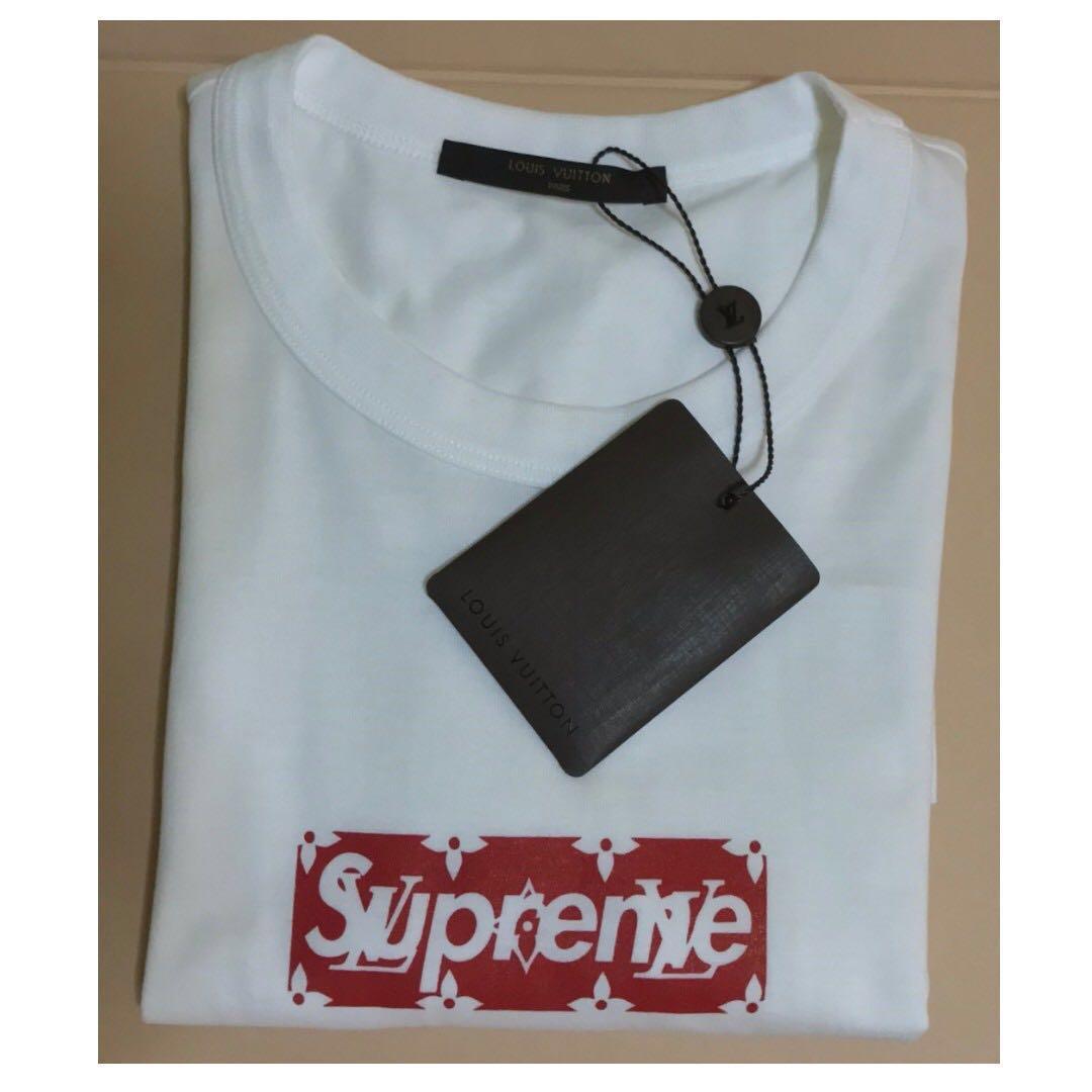 6a7c17fd1e34 Supreme X Louis Vuitton Box Logo Tee