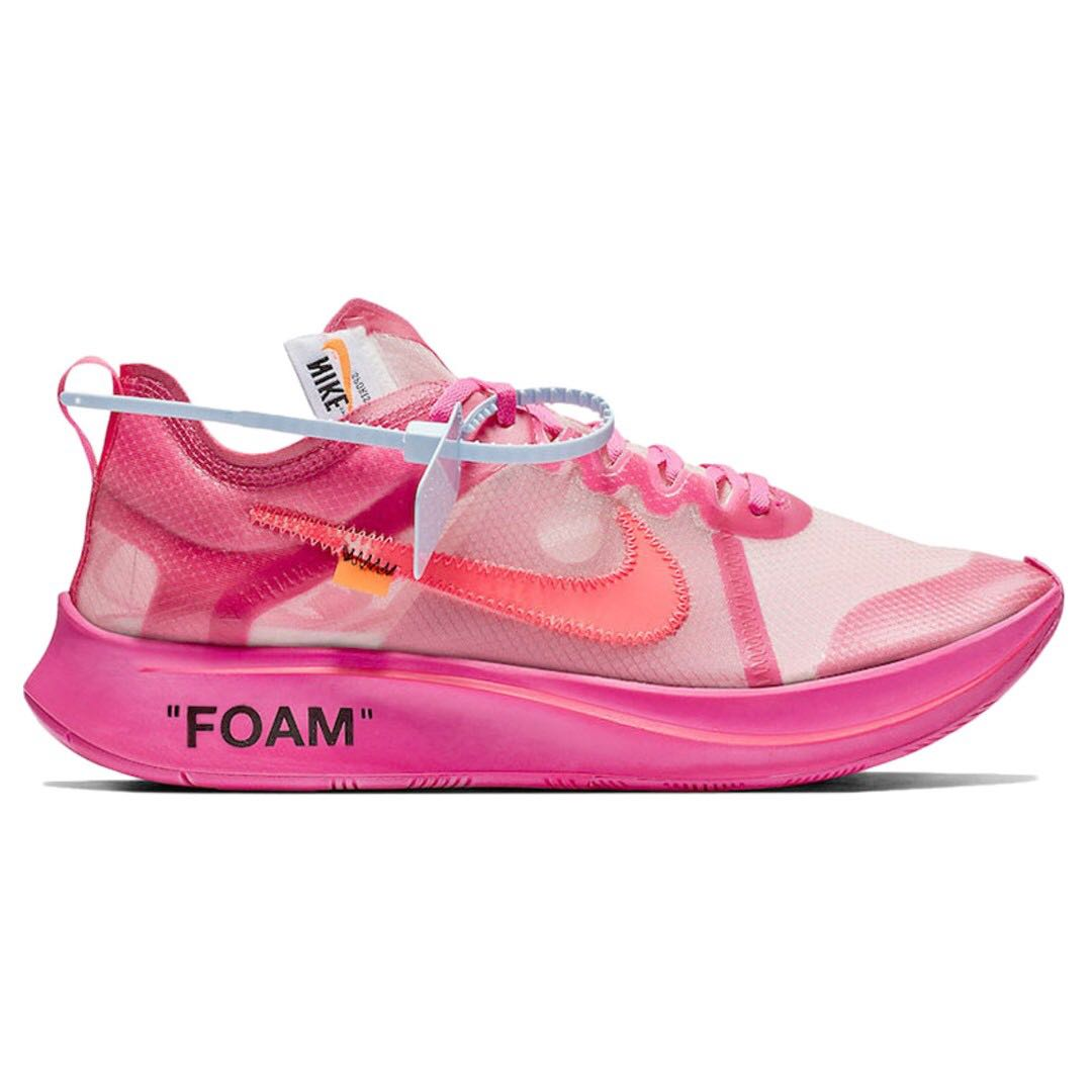 5d987889494 US 9.5  Nike Zoom Fly Off White Pink