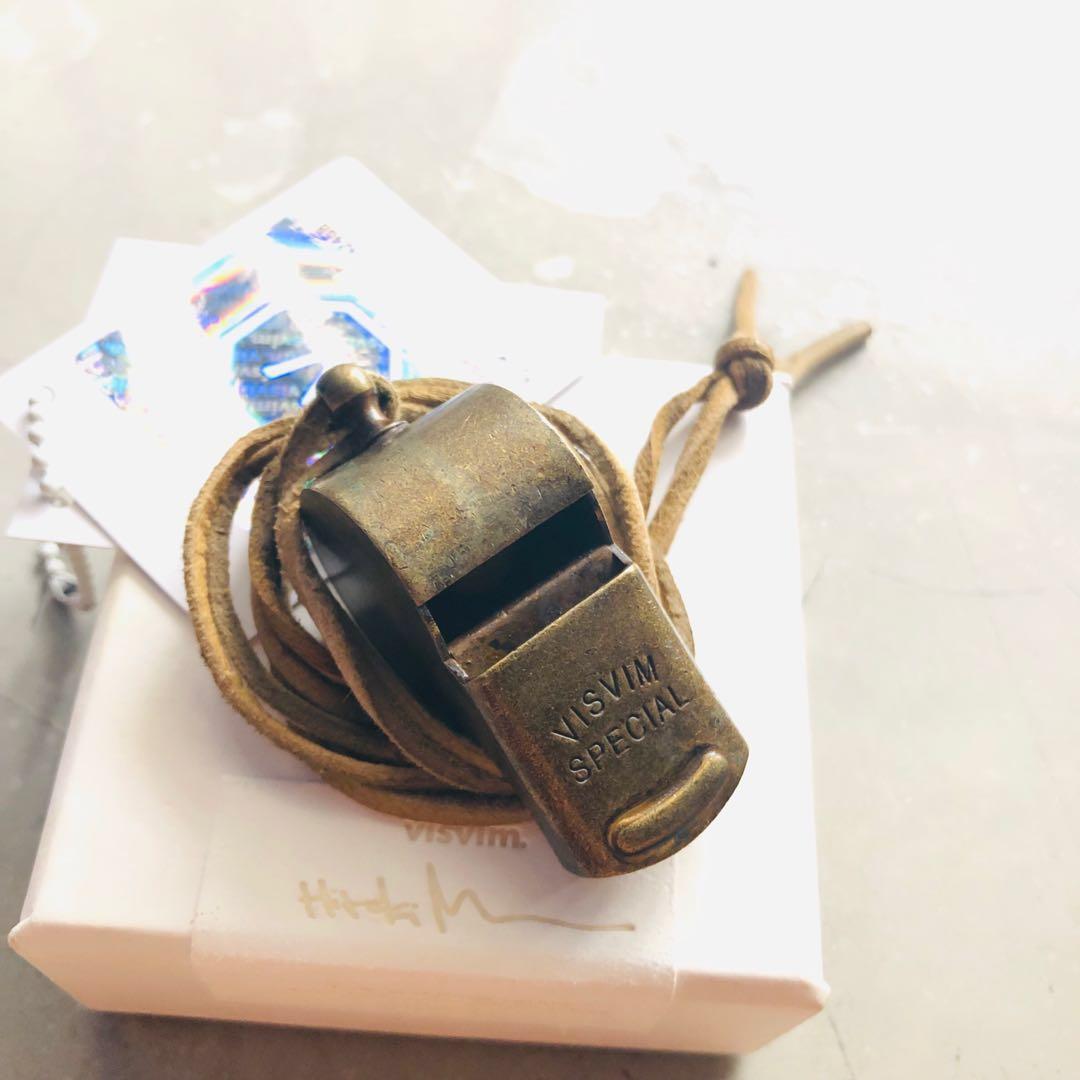 a7432f8124c5 Visvim whistle brass accessories supreme vintage, Men's Fashion ...
