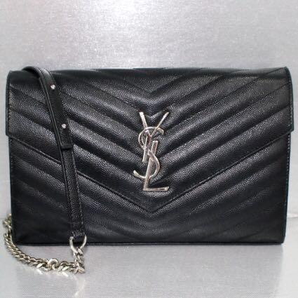 YSL Black Sling Bag 72cc6cd0335ad