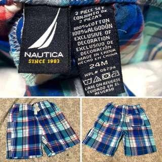 Original Nautica Stripes shorts