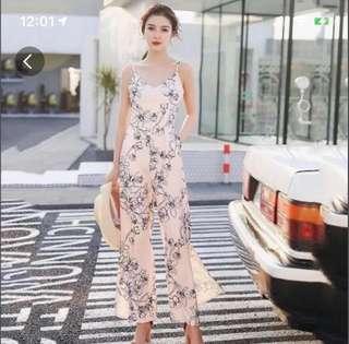 TTR Inspired Magnolia Pink Jumpsuit