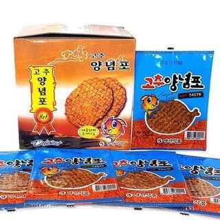 人氣辣味雞泡魚乾(獨立包裝)