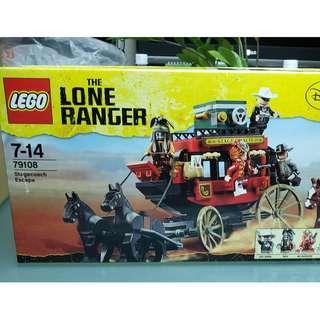 MISB 全新 Lego 79108 獨行俠系列  Stagecoach Escape (100%靚盒)
