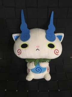 🚚 Yokai Watch Komasan Plush Toy Authentic Banpresto Japan