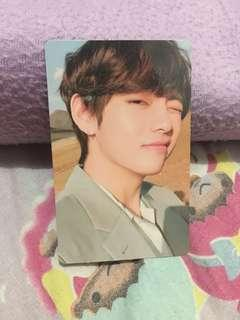 Official photocard Taehyung Love Yourself Tear