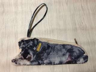 可愛 史立莎 狗仔 雙面 手提小包包 袋約30cm x 10cm (手帶約16cm)