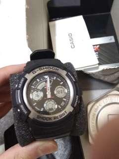 G-SHOCK ORIGINAL BLACK COOL WATCH (RM350 REAL PRISE)
