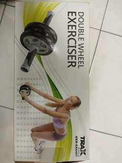 Ab roller / double wheel exerciser