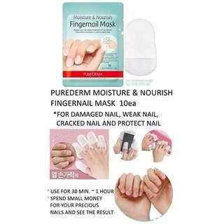 Purederm Moisture and Nourish Fingernails Mask