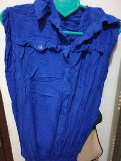 Jumpsuit biru