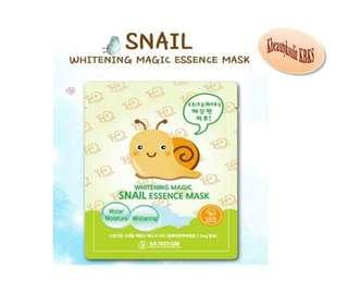 Skindigm Whitening Magic Essence Mask #Snail
