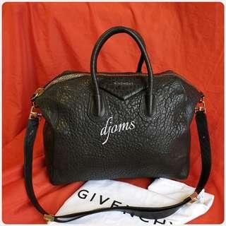 🛑Givenchy Antigona Large Pebbled Satchel Duffel Bag