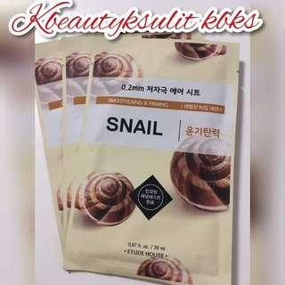 Etude House Air Therapy Sheet Mask #snail