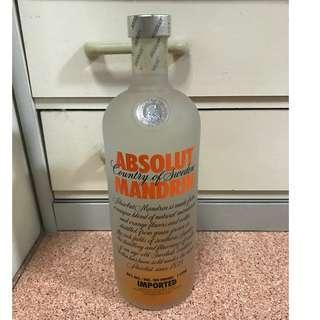 Absolut Mandrin Vodka (First Version)