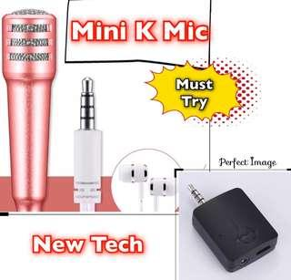 🚚 Vocal Sound Card wiv Mini Mic for iPhone, Android, Laptop,PC