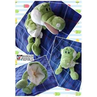 Crocodile Hand Puppet With Moving Mouth
