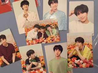 BTS LY JAPAN PHOTOCARDS