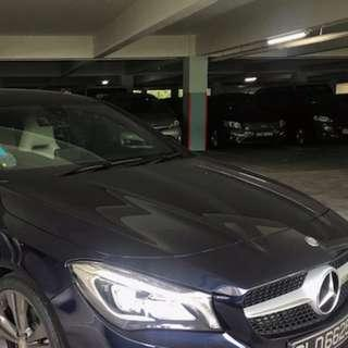 Transfer lease of Mercedes Benz CLA180