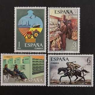 🚚 Spain 1976. Postal Service complete stamp set