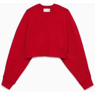 Aritzia Lolan cropped sweater