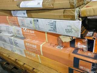 [全新NG庫存福利品出清]特力屋 各廠牌款式木紋顏色抗水耐磨木質、塑膠地板 0.5坪~5坪