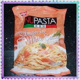 Nissin NUPASTA Salmon in White Sauce Instant Cook Spaghetti Noodle 新意派白汁三文鱼味意大利面