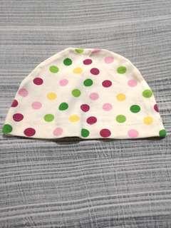 Topi Bayi Polkadot Color