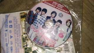 Kaset dvd BBF