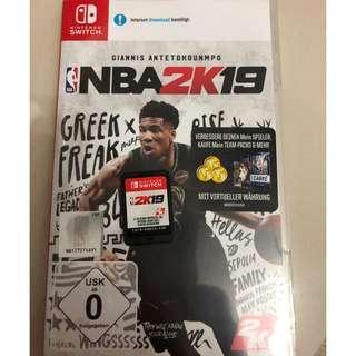 Nintendo Switch NBA2K19