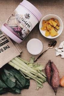 LZ精選紫薯谷粮 800g大罐裝 榖粮 代餐