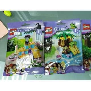MISB 全新 Lego 41017 41018 41019 Friends 系列 3包