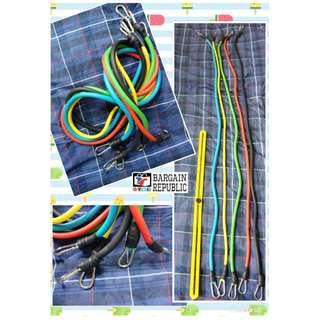 Resistance Band with Carabiner, Set of 5