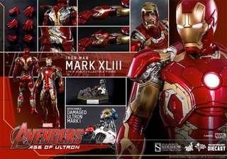 Hot Toys Avengers Age Of Ultron Iron Man Mark 43