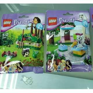 MISB 全新 Lego 41020 41021 41022 Friends 系列 3包