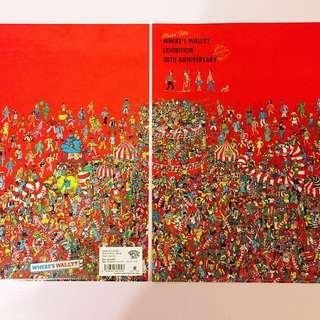 日本製🇯🇵Wally A4 File (共六款) Wally 🇯🇵日本展覽館🇯🇵Where's Wally 30周年Exhibition🔍🔎🔍 No. 3