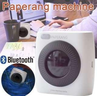 🚚 Mini mobile portable Bluetooth photo printer