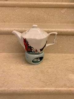 茶壺蠟燭加熱座