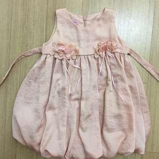 LOVELY LACE Baby Bubble Dress