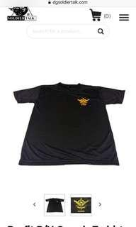 Dryfit R/N Guards T-shirts Black and Red