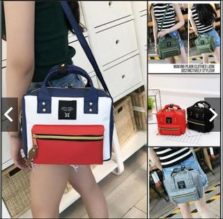 Canvas Single Shoulder Bag Makeup Bag