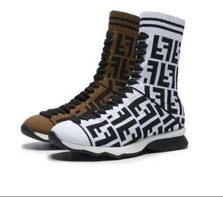 F*endi socks boots