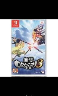 含運 SWITCH遊戲 NS無雙OROCHI蛇魔3 WARRIORS OROCHI 4 蛇魔3 中文版