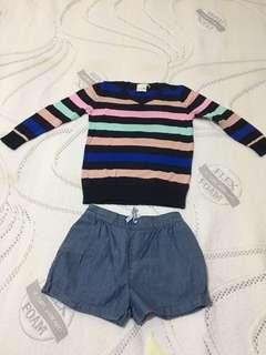 Bundle Pull Over and Shorts