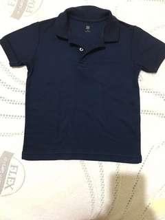 Uniqlo Polo Shirt Navy Blue