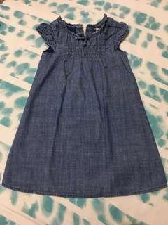 Old Navy Soft Denim Dress ( 4T )