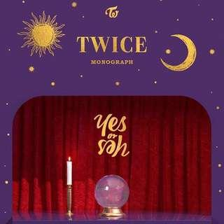🚚 [CHEAP SHARE] TWICE YES OR YES MONOGRAPH